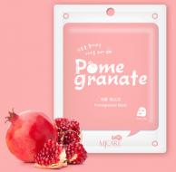 Маска тканевая с гранатом Mijin MJ on Pomegranate mask pack 22гр