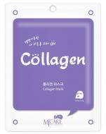 Маска тканевая с коллагеном Mijin CARE Collagen Mask 22гр